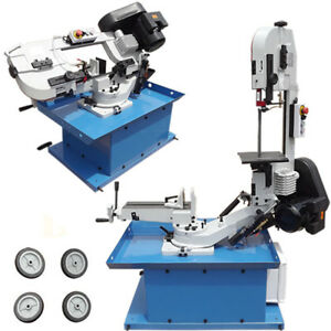 Swivel Bow 7 Band Saw Horizontal Vertical Metal Cutting Cutter Hydraulic Down
