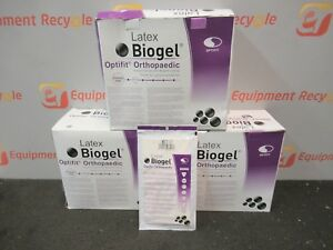 Biogel 31060 01 Latex Optifit Orthopaedic Surgical Gloves Size 6 Lot Of 110
