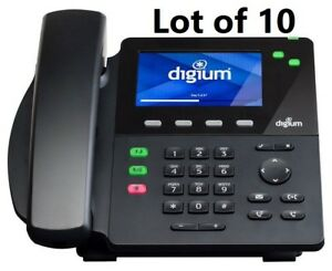 10 pack Digium D60 2 line Ip Phone With Sip Support Hd Voice 1teld060lf