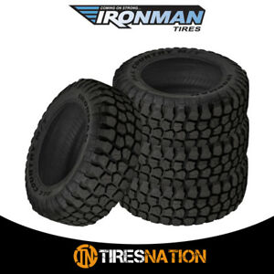 4 New Ironman All Country M t 37x12 50r17 8 124q Bw All Terrain Mud Tires
