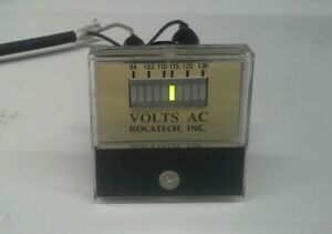 Panel Meter Led 94 130 Bar Graph Ac Volt Meter 50 X 50mm