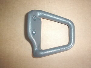 97 99 Camaro Firebird Coupe Seat Belt Guide Med Gray Rh