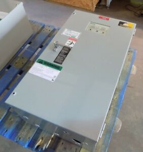 Used Pulloff Asco Series 300 Automatic Transfer Switch 70 Amp D000300030070n10c