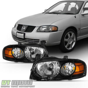 se r Style Headlamps For 2004 2005 2006 Sentra All Model Headlights Left right
