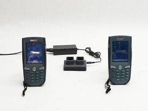 Lot 2 Unitech Pa963 Data Collection Terminal Mobile Computer Barcode Scanner
