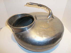 Vintage Babson Bros The Surge Cow Goat Dairy Milker Stainless Steel Spare Bucket