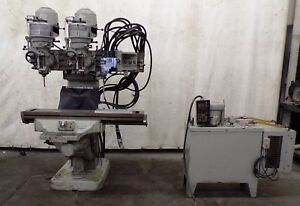 Bridgeport Dual Head Knee Mill True Trace Pattern Tracer Pu 47 1
