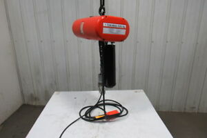 Cm Lodestar Model L 1 Ton 1hp Electric Chain Hoist 230 460v 3ph 20 Lift 16fpm