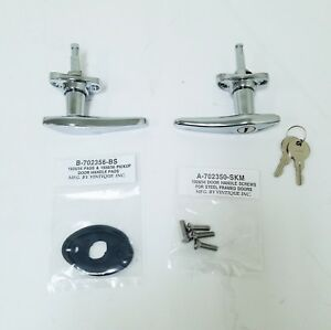 Ford Model A Exterior Outside Locking Door Handle Kit Closed Car 1930 1931