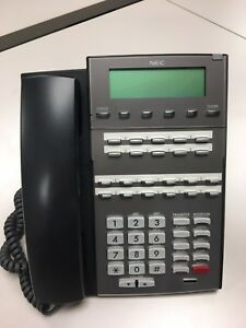 Nec Dsx 22b Bk Office Display Telephone W handset Stand Dx7na 22txh