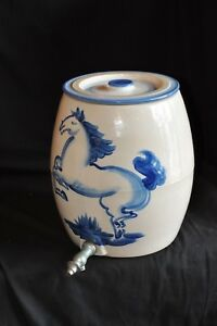 Hadley Pottery Horse Water Cooler