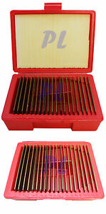 20 Pair 1 32 Ultra Thin Parallel Set 0 0001 Square Precision 1 2 In 1 11 16