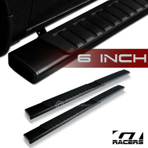 For 2015 2019 Ford F150 F250 Crew Cab 6 Aluminum Blk Side Step Running Board