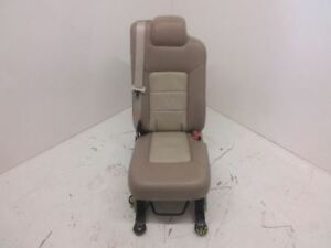 2003 2006 Navigator Expedition Second 2nd Row Middle Jump Seat Tan Leather Oem
