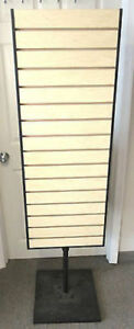 Store Display Rotating 65 Slat Wall Rack Retail Fixture