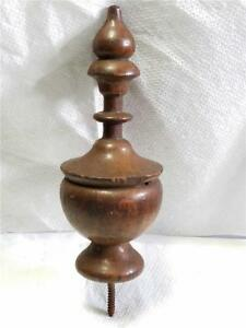 Antique Vintage Finial Furniture Clock Topper Salvaged Piece 5 1 2