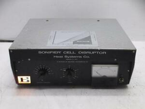 Branson W185c Lab Heat System Homogenizer Sonifier Cell Disruptor Power Supply