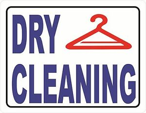 Dry Cleaning Sign Size Options Garment Cleaners Cleaning Signs Business