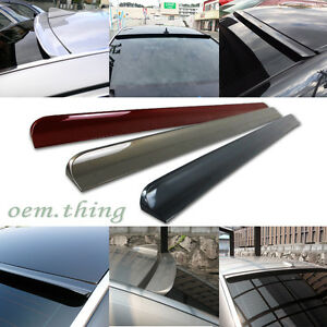 Painted Color For Saab 9 3 93 Turbo X 4d Rear Roof Window Visor Spoiler 08 12