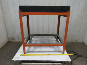 36 X 24 X 4 1 4 X 41 Black Granite Surface Inspection Plate W stand