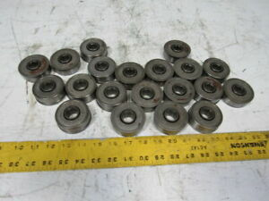 Frost Conveyor Roller Bearings 11 16 Hex Id 2 268 Dia 2 37 Flange Lot Of 20