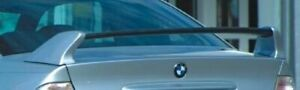 Bmw E46 3 series Kerscher Tuning Carbon Fiber Rear Wing Unpainted Side Supports
