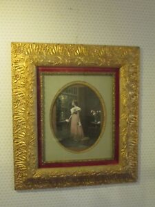 Large 16 X 19 Victorian Gesso Frame St 277