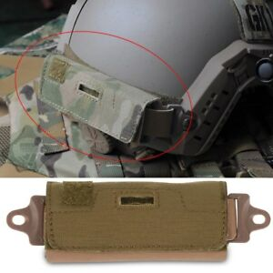 US Tactical Combat Helmet Accessory Fast Rear Pouch Balancing Counterweight Bag