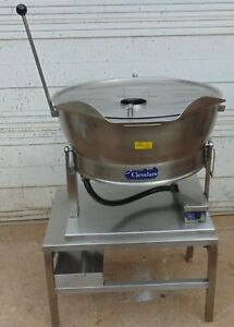 Cleveland Set 15 15 Gallon Electric Tilt Skillet 208v 3 Phase