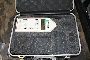 Quest Sound Level Meter Model 2800 W Ca 12b Calibrator