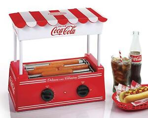 Hot Dog Roller Grill Bun Warmer Nostalgia Food Cooker Electric Machine Retro
