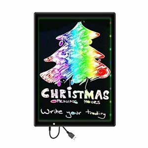 12 x9 Led Message Writing Board diy Drawing Painting Sketching Pad For Holiday
