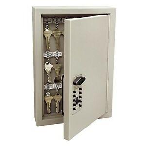 New Key Combination Lock Box Cabinet Storage Safe Wall Mount Holder Top Quality