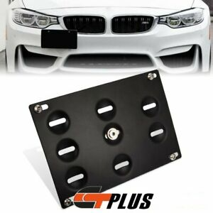 Bumper Tow Hook License Plate Bracket For Bmw 328i 335i 428i 435i 530i F30 F32 X
