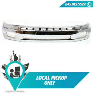 Local Pickup 2000 02 Fits Toyota Tundra Front Bumper Face Bar Chrome To1002170