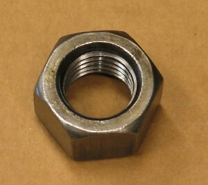 Fmc Brake Lathe 1 Arbor Shaft Nut Coarse Thread Accuturn John Bean Van Norman