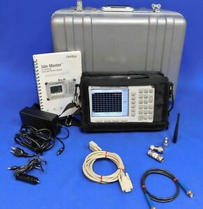 Anritsu S331d Site Master Cable Antenna Analyzer W Opt 003