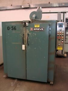 Grieve Industrial Walk In Powder Coating Batch Oven Gas Fired Heat Treating