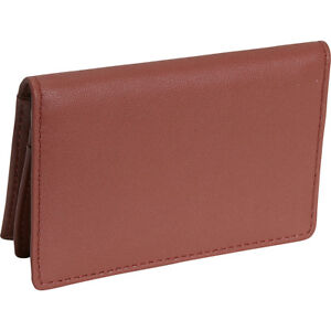 Royce Leather Deluxe Card Holder Tan Business Accessorie New