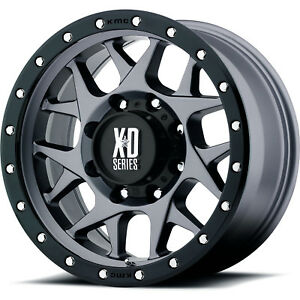 18x9 Gray Xd Xd127 6x5 5 12 Rims Toyo Open Country A T Ii 275 70 18 Tires