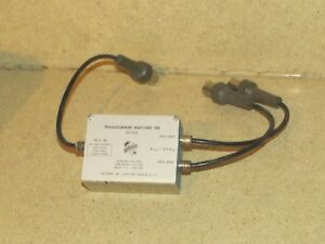 Tektronix Transformer Matched Tee 017 012
