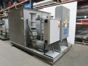 Thermal Care Cooling Tower Water Pumps 2800 Gal Tank W 2 60hp 1 20hp System