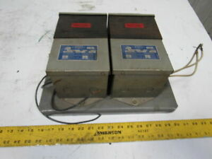 Dongan 35 y030 120 240v Hi 16 32v Low 750va Transformer Wired For 230v Output