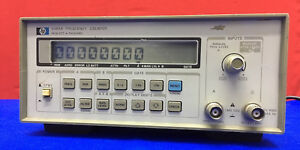 Hp Hewlett Packard 5384a Frequency Counter