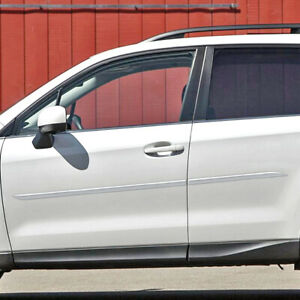 Painted Body Side Moldings Trim Mouldings For Subaru Forester 2009 2018
