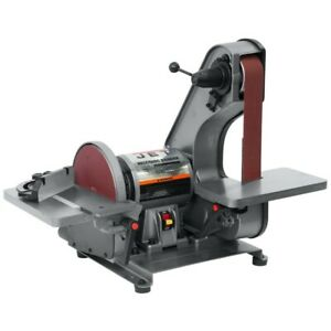 Jet 577004 J 41002 2 X 42 Bench Belt Disc Sander