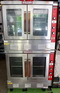 Vulcan Snorkel Sg Double Stack Commercial Nat Gas Oven Sg22t 1 Phase 115v 60hz