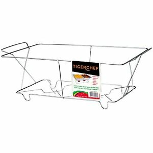 Tigerchef Tc 20539 Buffet Chafer Food Warmer Chrome Wire Frame Stand Full Size