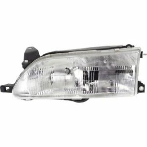 Headlight For 93 94 95 96 97 Toyota Corolla Left Halogen Clear Lens With Bulb