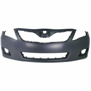 Bumper Cover For 2010 2011 Toyota Camry Base Le Xle Usa Built Front Primed Capa